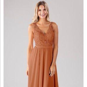 Kennedy Blue Bridesmaid Dress - Cinnamon Color